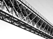 A Solid Bridge Connection Royalty Free Stock Photography