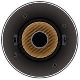 Solid dynamisk högtalare Royaltyfria Bilder