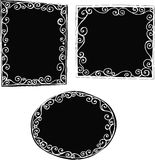 Solid Frames Illustration royalty free illustration