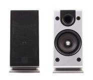 Solid högtalare för grå färger och för svart. royaltyfria bilder