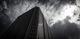 Solid looking building Stock Images