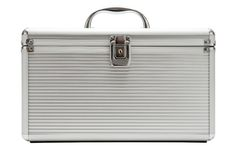 Solid Metal Case Royalty Free Stock Photo