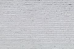 Solid old brick wall. With white paint Royalty Free Stock Image