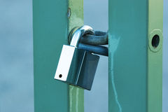 Solid padlock Royalty Free Stock Images