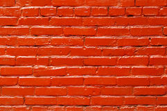 Solid painted brick wall background Royalty Free Stock Image