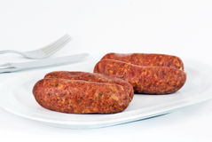 Solid sausage Royalty Free Stock Photo
