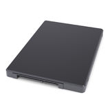 Solid-state drive. With the crown. Isolated render on a white background Stock Photography