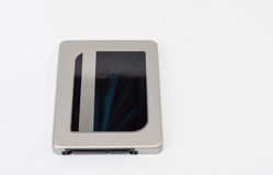 Solid state drive disk on white background Royalty Free Stock Photo