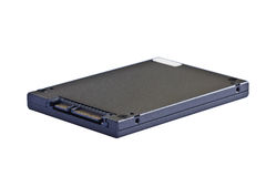 Solid state drive (SSD). 2.5 inch (notebook size) solid state drive (SSD), sata interface Stock Photography