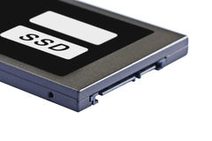 Solid state drive (SSD) Stock Image