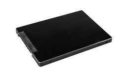 Solid state drive SSD Harddisk Stock Images