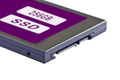 Solid state drive (SSD) Royalty Free Stock Photos