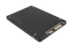 Solid state drive (SSD) Stock Photo