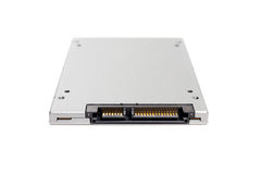 Solid state drive SSD - isolated Stock Image