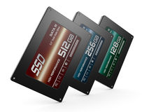Solid state drives Royalty Free Stock Photos