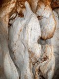 Solid Stone in Cave Royalty Free Stock Photo