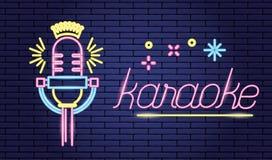 Solid symbol för mikrofon vektor illustrationer