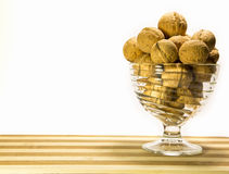 Solid walnuts Royalty Free Stock Photo