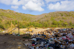 Solid waste management in the windward islands Stock Photo
