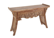 Solid Wood Console Stock Images