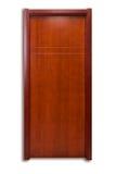 Solid wood door Stock Image