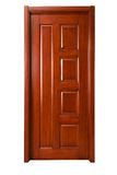 Solid wood door Royalty Free Stock Photos
