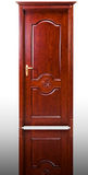 Solid wood door Royalty Free Stock Photography