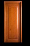 Solid wood door Royalty Free Stock Photo