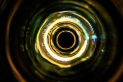 Solida vågor i mörkret Royaltyfri Fotografi