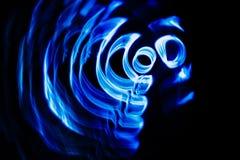 Solida vågor i mörkret vektor illustrationer