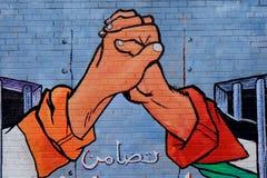 Solidaridad con Palestina, Belfast, Irlanda del Norte Imagen de archivo