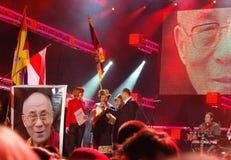 Solidaridad del concierto con Belarus 2008 Fotos de archivo
