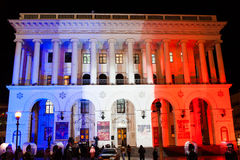 Solidariedade com França imagem de stock royalty free