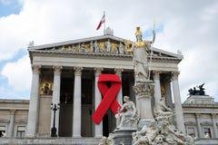 Solidariedade com HIV/AIDS foto de stock