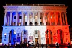 Solidariteit met Frankrijk Royalty-vrije Stock Afbeelding