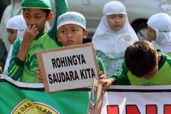 Solidarity for rohingnya Stock Images