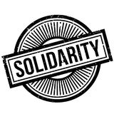 Solidarity rubber stamp Stock Image