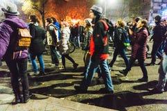Solidarność marsz Zdjęcia Royalty Free