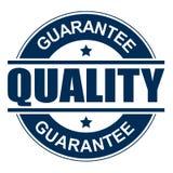 Solide de timbre de garantie de qualité illustration libre de droits