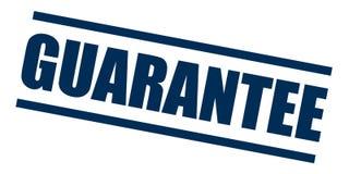 Solide de timbre de garantie de qualité illustration stock