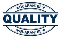 Solide de timbre de garantie de qualité illustration de vecteur