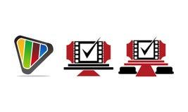Solider Videoservice-Produktions-Satz Stockbild