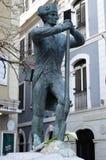 Solidier-Statue, Gibralter lizenzfreie stockfotografie
