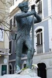 Solidier staty, Gibralter Royaltyfri Fotografi