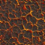 Solidificando a lava. Textura sem emenda Foto de Stock Royalty Free