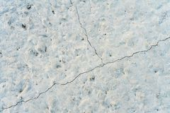 Solidified building concrete with small cracks. Background.  royalty free stock photos