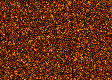 Solidified hot coal fire texture Stock Image