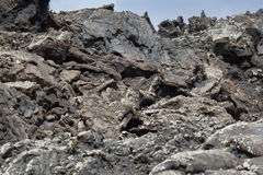 Solidified lava Royalty Free Stock Image