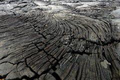Solidified lava, Pico island, Azores archipelago (Portugal) Stock Image