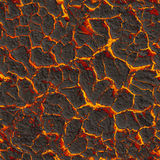 Solidifying lava. Seamless texture Royalty Free Stock Photo